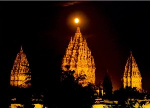 The Beautiful of Prambanan Temple