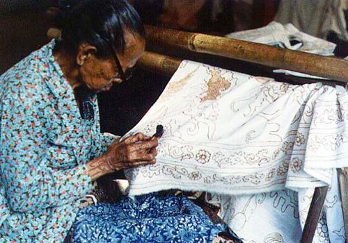 Batik Home Industry in Yogyakarta