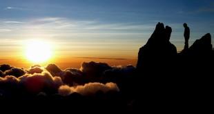 Extreme Sunrise At Merapi Volcano